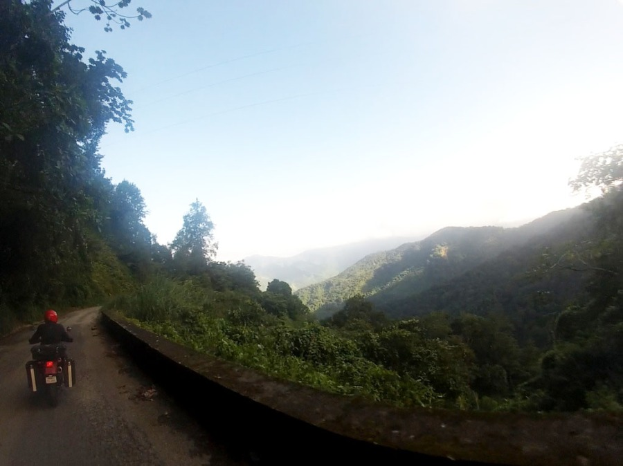 The road out of Oaxaca. Photo: Nathaniel Chaney
