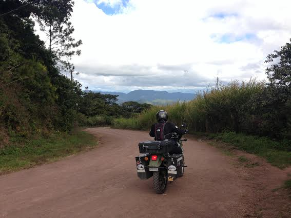The road from Santa Lucia was beautiful and a great road although it gave us our fair share of problems. Photo: Alex Washburn