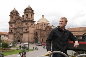 As nathaniel healed we took a bus tour of Cusco (20 soles). Photo: Alex Washburn