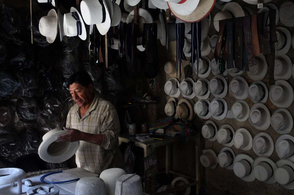 Casa Del Sombrero is a Cuencan institution. Photo: Alex Washburn