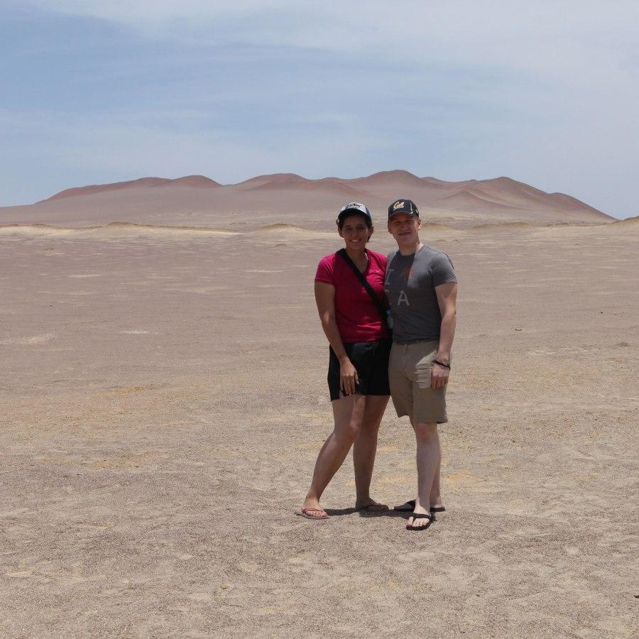 This is an awkward couple photo. Enjoy! Photo: Our fellow traveler
