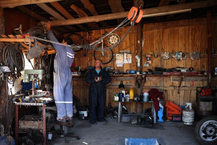 Alejandro's shop. Photo: Alex Washburn